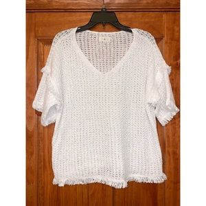 White Lou & Grey Sweater